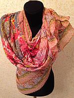 Новый  Очень широкий шарф 2790-1 (цв 1)