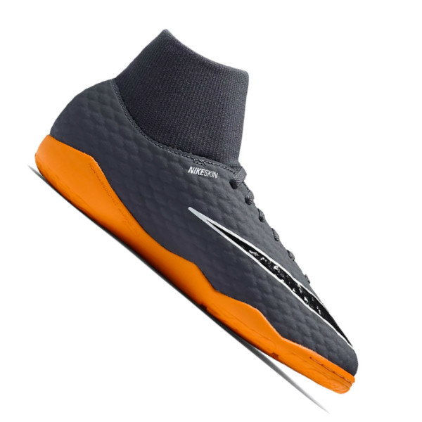df9b200343a188 Футзалки детские Nike HypervenomX Phantom 3 Academy DF IC Junior 081  (AH7291-081)