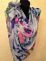 Новый  Очень широкий шарф 2790-1 (цв 2)