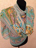 Новый  Очень широкий шарф 2790-1 (цв 3)