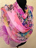Новый  Очень широкий шарф 2790-1 (цв 4)