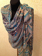 Новый  Очень широкий шарф 2790-1 (цв 5)