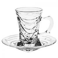 Кофейный стеклянный сервиз  Stenson ZS55303