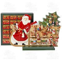 Villeroy & Boch Статуэтка-календарь с новогодними украшениями Christmas Toy Memory 1486029596