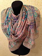 Новый Очень широкий шарф 2790-1 (цв 7)