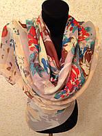 Новый  Очень широкий шарф 2790-1 (цв 8)