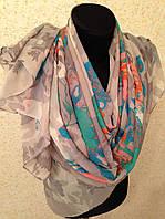 Новый Очень широкий шарф 2790-1 (цв 9)