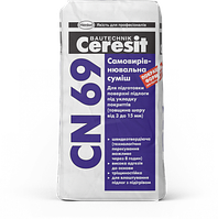 Наливной самовыравнивающийся пол Ceresit CN-69, 25кг