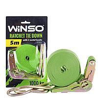 Стяжной ремень Winso c замком 1Т 5 М ширина ленты 25 мм
