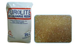 Смола ионообменная Purolite C100 (25 л)