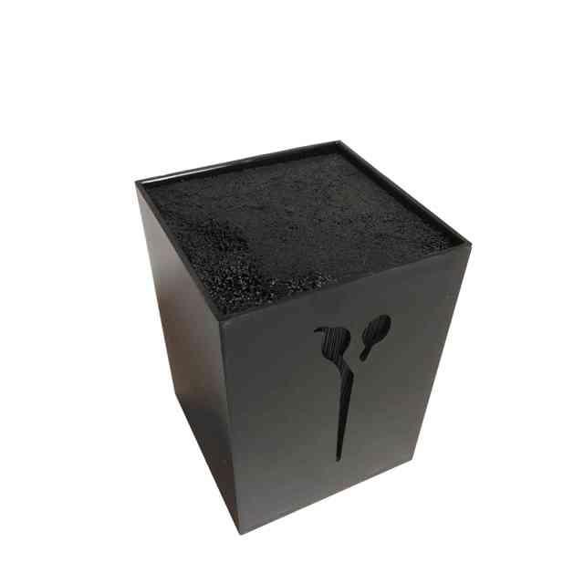 Подставка для парикмахерских ножниц и инструментов SPL 21122, черная