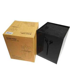 Підставка для перукарських ножиць та інструменту 21122 (чорна), фото 2