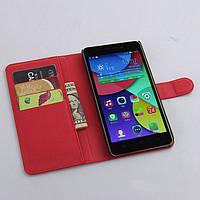 Чехол-книжка Litchie Wallet для Lenovo A7000 / K3 Note Красный