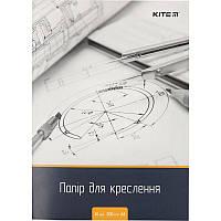 Бумага для черчения Kite А4 10листов 200г/м2 K18-269