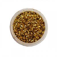 Сухие блестки Золотые JJCC02-64 7г 0.4 мм