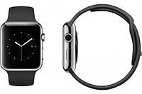 Умные часы Apple Watch Stainless steel leather strap black.beige.blue.brown 42mm