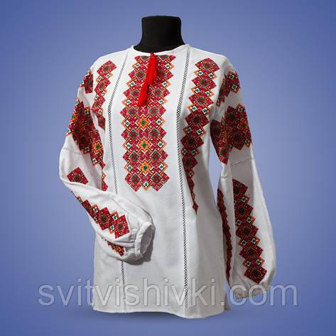 """Вышитая женская блуза на лене""""Одарка"""", фото 2"""
