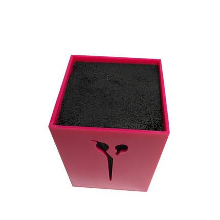 Подставка для парикмахерских ножниц и инструментов SPL 21122, розовая, фото 2