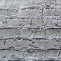 Обои бумажные влагостойкие Кирпичи темно-серый  2179, фото 1