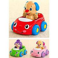 Развивающая игрушка Fisher Price Друзья на машине