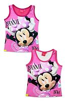 Майки для девочек оптом , Disney, 3-8 рр