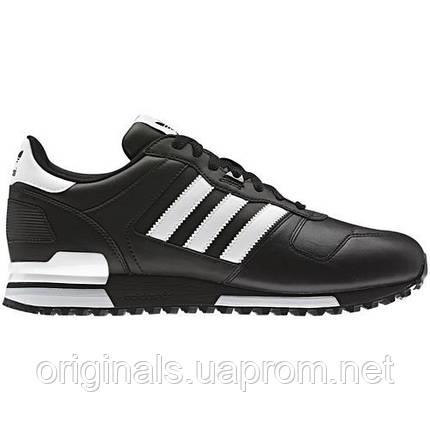 sports shoes cbb04 5be15 Кроссовки повседневные Adidas Originlas ZX 700 G63499 кожаные, фото 2