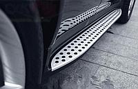 Пороги боковые Mercedes ML164  2005-2011, B66880610