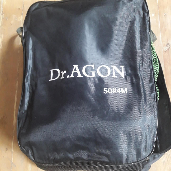 Садок с прорезиненной сеткой Dr.Agon 4.0 метра 50*38 см