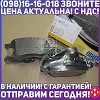 Колодка торм. диск. AUDI A4, A6, ALLROAD передн. (пр-во Jurid) 573196J