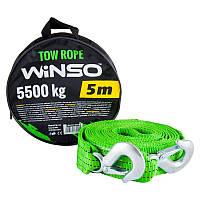 Winso трос ленточный с металлическими крючками 5,5 тонн 5 метров