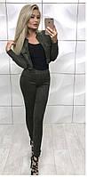 Костюм жіночий трійка піджак, майка і штани
