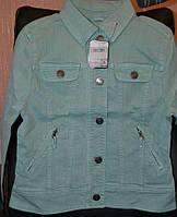 Джинсовая куртка для девочки, фото 1