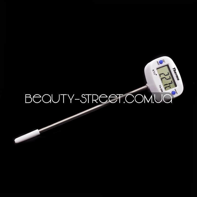 РАСПРОДАЖА!!! Термометр цифровой - со щупом (БЕЛЫЙ) -50 +300С