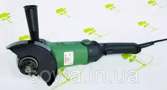 ✔️ Болгарка Hitachi G135E | 1200Вт | регулятор оборотов