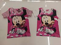 Футболки для девочек оптом, Disney, 3-8 рр