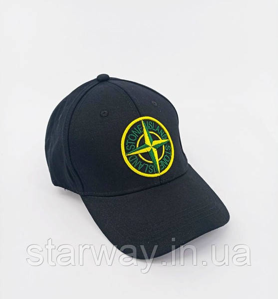 Кепка стильная Stone Island логотип вышивка