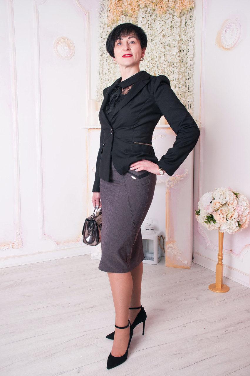 Красивая женская юбка-карандаш, фото 1