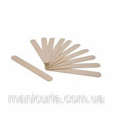 Шпатель деревянный для депиляции, 10 штук ( маленькие)