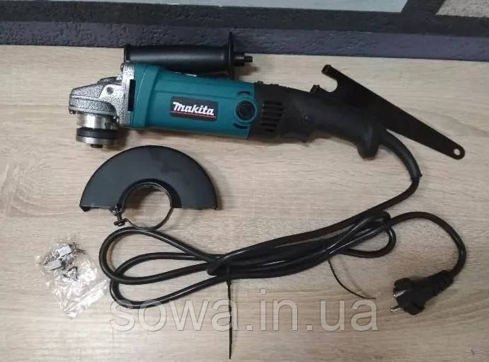 ✔️ Болгарка Makita GA 6020C с регулятором оборотов / 1100 Вт