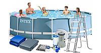 Каркасный бассейн INTEX 26726 (размер 457-122 см )
