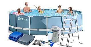 Каркасний басейн INTEX 26726 (розмір 457-122 см )