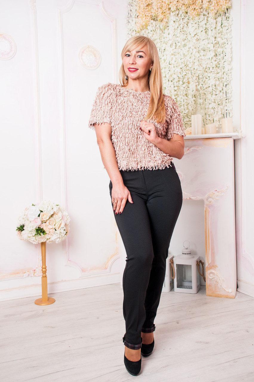 5289fce6f45e Черные прямые женские брюки