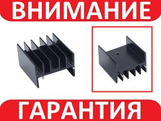 Алюминиевый мини радиатор 30х30х25мм