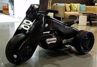 Детский Мотоцикл BMW M 3926-2, черный (красный, белый), свет/звук, MP3/USB, BAMBI.