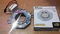 Декоративный встраиваемый светильник со светодиодной  подсветкой Feron 8020-2 LED