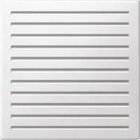Центральная плата механизма звуковой сигнализации, полярно-белый Shneider Merten (MTN352419)