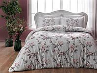 Комплект постельного белья из Сатина двуспальное евро TAC Lotte Pink