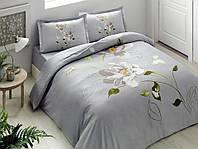 Комплект постельного белья из Сатина двуспальное евро TAC Palau Turquoise