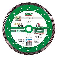 Алмазный отрезной диск по граниту Distar Elite Max Turbo 232x2,5x12x70+8 (10170127019), фото 1