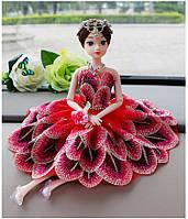 Детская игрушка. Кукла с платьем в виде цветка